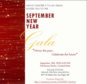 September Gala Dinner Meeting @ Palace Station | Las Vegas | Nevada | United States