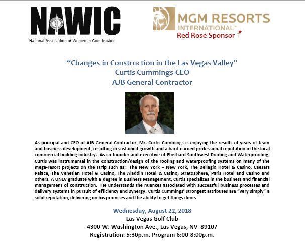 August Monthly Meeting @ Las Vegas Golf Course   Las Vegas   Nevada   United States