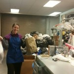 paula-gathering-bags-of-cloths-to-sort